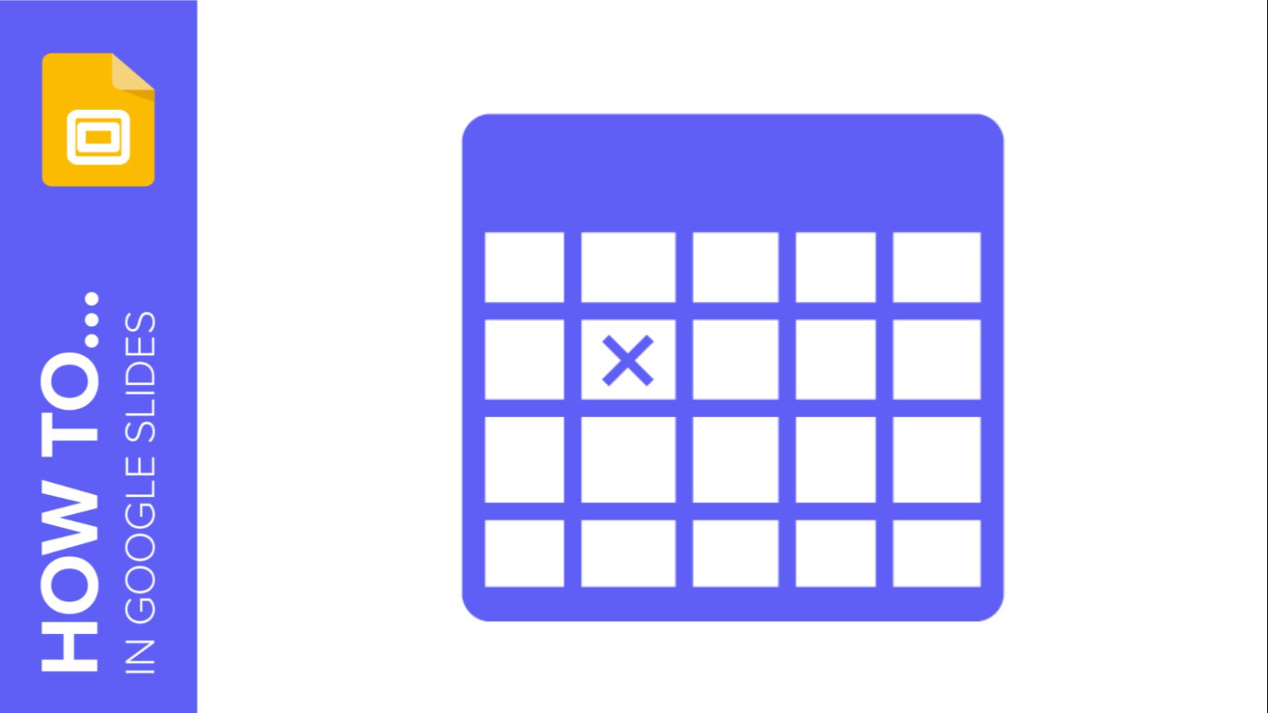 How to Add and Edit Tables in Google Slides   Schnelle Tipps & Tutorials für deine Präsentationen