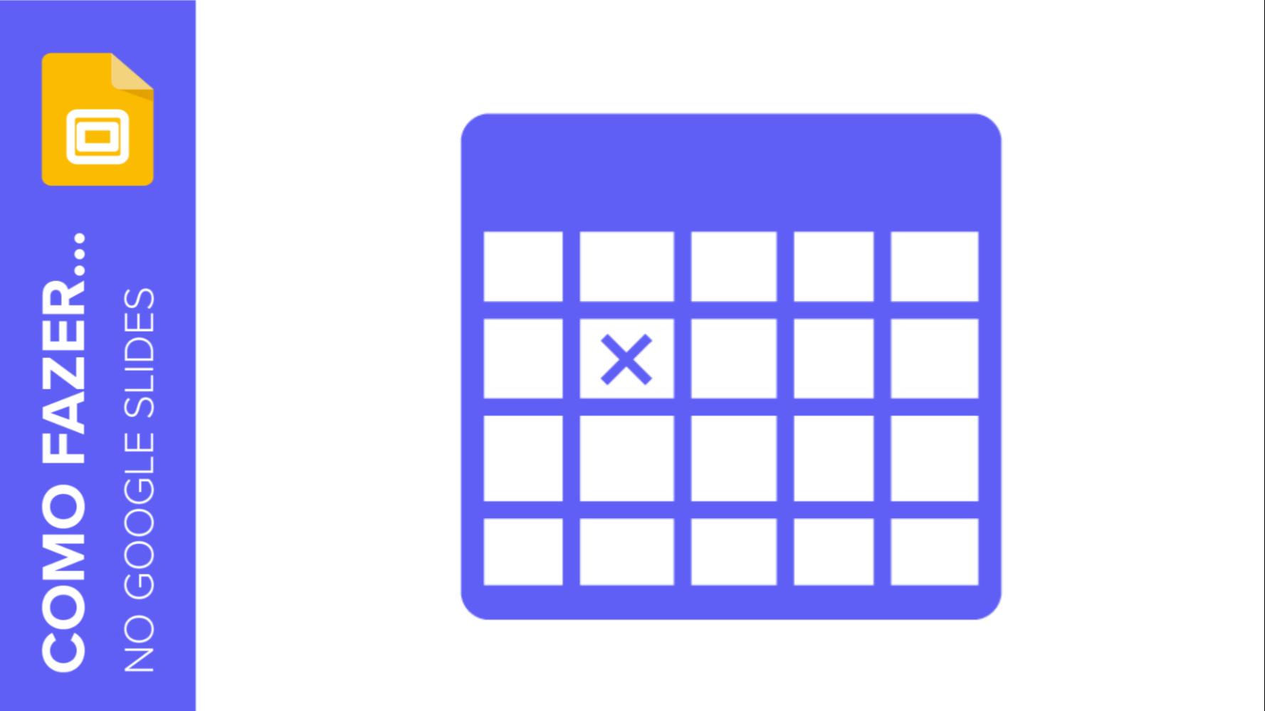 Como adicionar e editar tabelas no Google Slides | Tutoriais e Dicas de apresentação