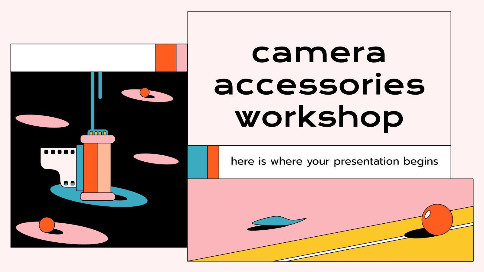 Atelier d'accessoires de caméra : Modèles de présentation