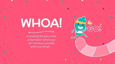 Plantilla de presentación Juego divertido para clase