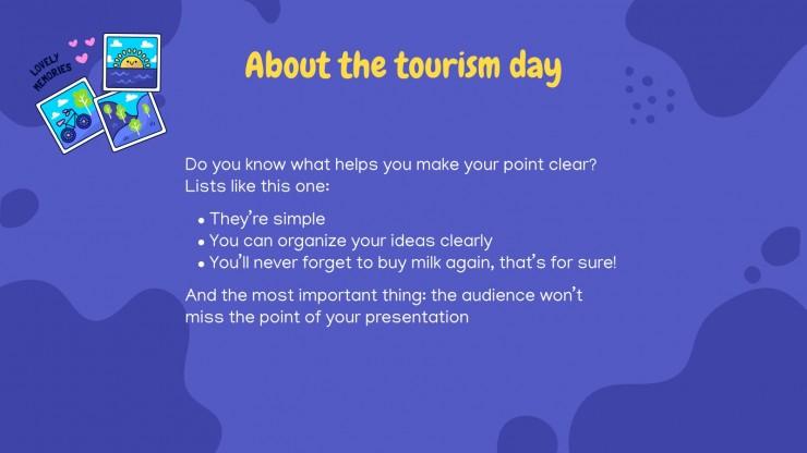 World Tourism Day presentation template