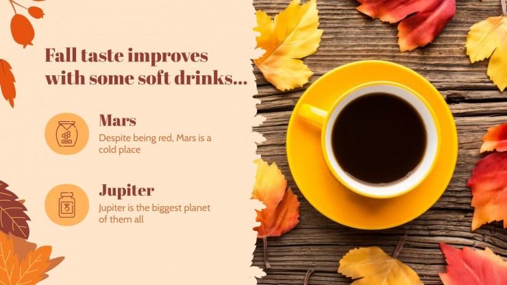 Herbstanfang Präsentationsvorlage