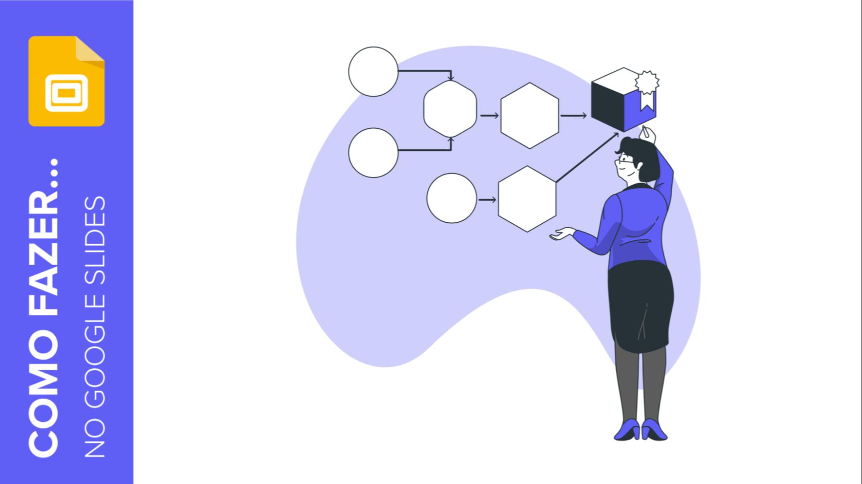 Como criar fluxogramas no Google Slides | Tutoriais e Dicas de apresentação
