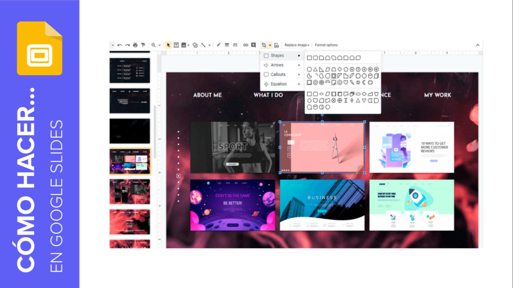 Cómo insertar, recortar y enmascarar imágenes en Google Slides | Tutoriales y Tips para tus presentaciones
