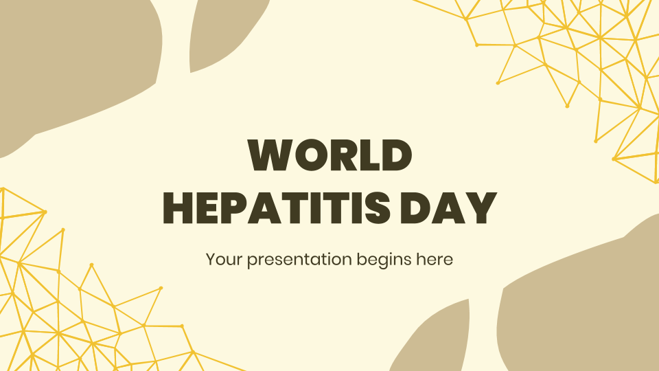 World Hepatitis Day presentation template