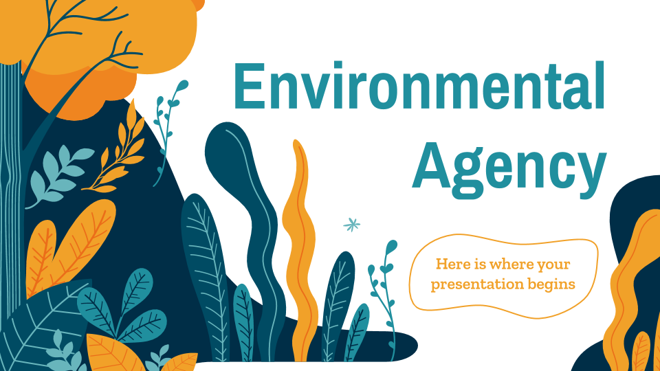 Environmental Agency presentation template
