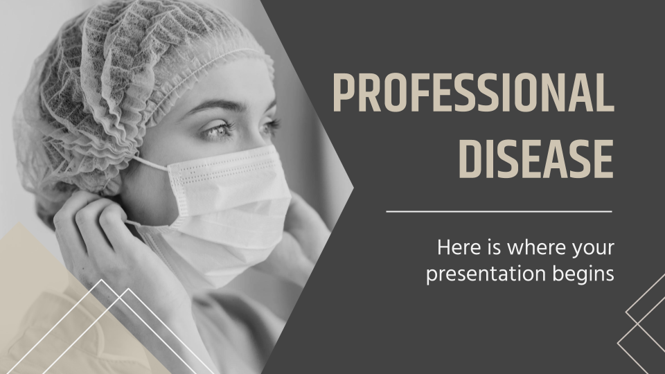 Professional Disease presentation template