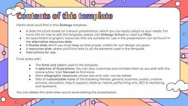 Pastel Detailed Lesson Plan for Pre-K presentation template