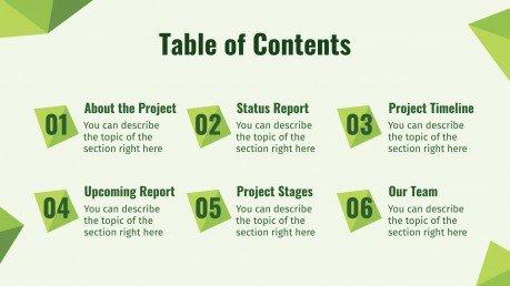 Umweltschutz-Meeting Präsentationsvorlage