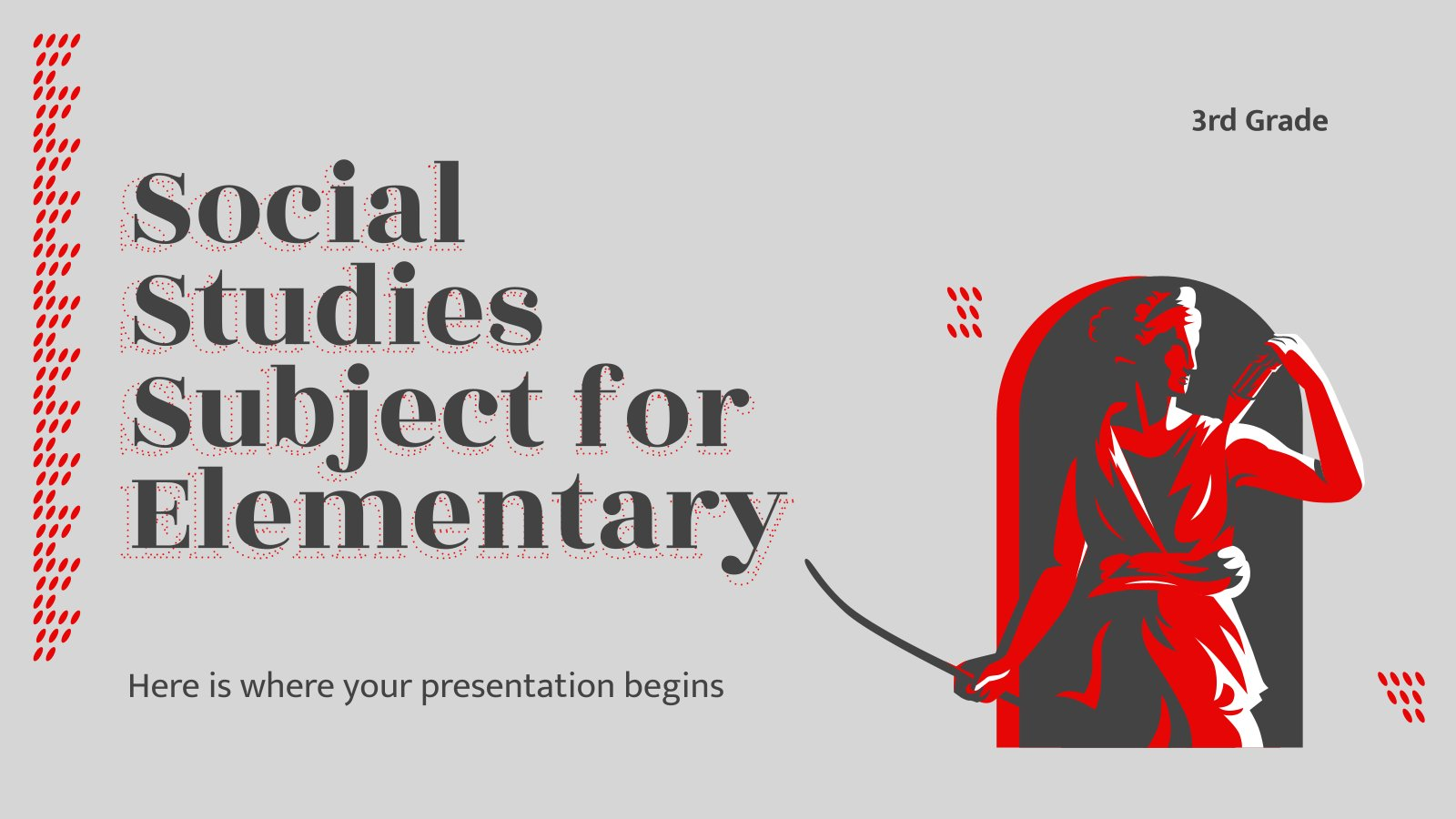 Études sociales primaires : Histoire du monde : Modèles de présentation