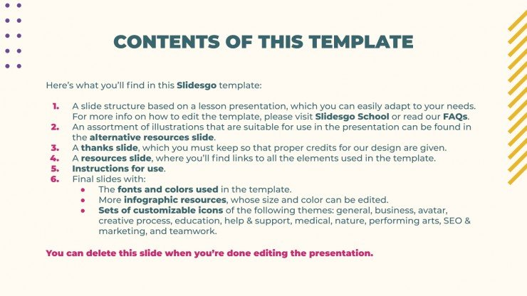 Memphis E-Learning presentation template