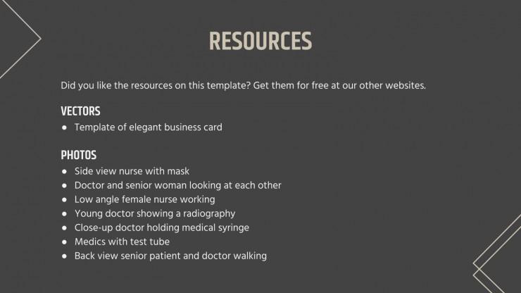 Plantilla de presentación Diseño profesional para medicina