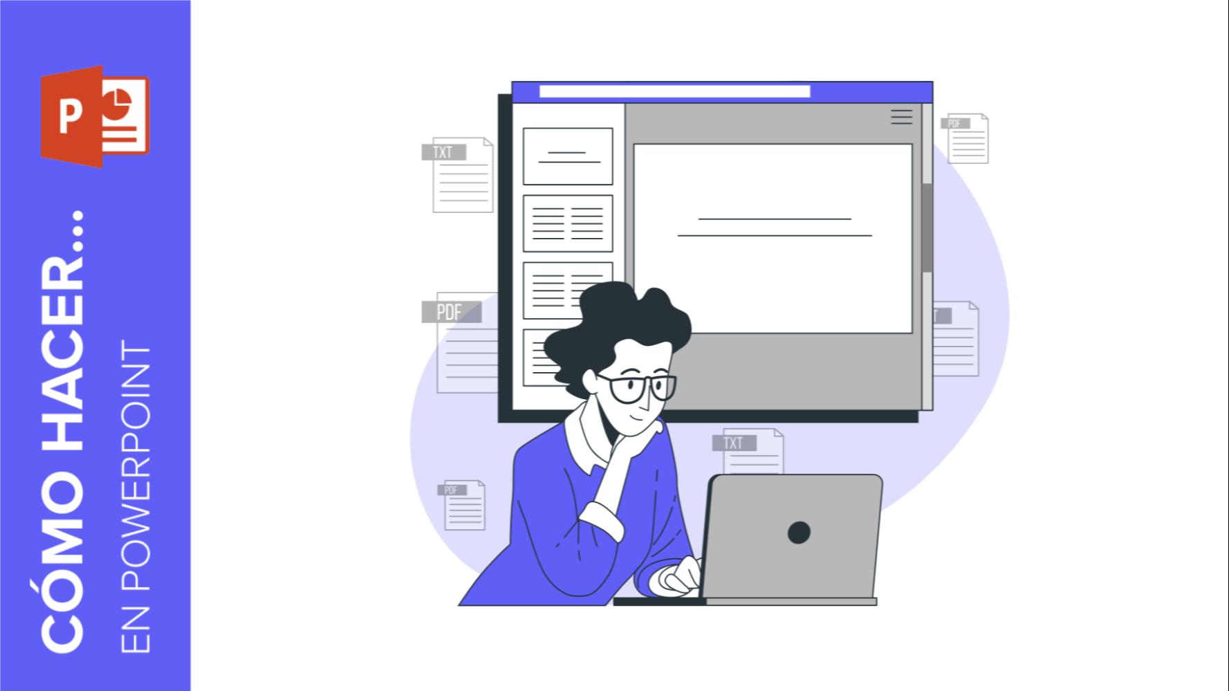 Cómo insertar un PDF en PowerPoint | Tutoriales y Tips para tus presentaciones
