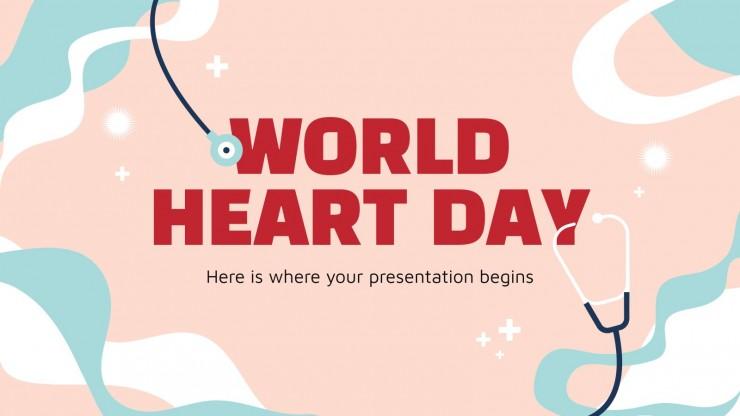 Journée mondiale du cœur : Modèles de présentation