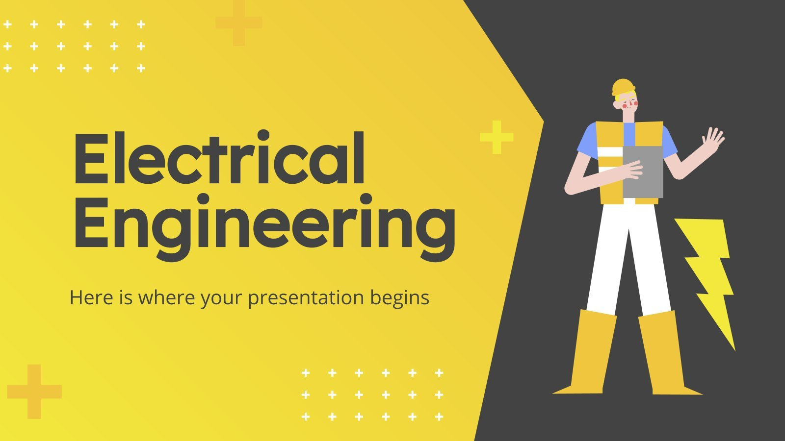 Electrical Engineering presentation template