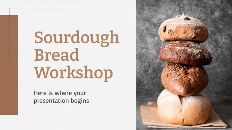 Sauerteigbrot Workshop Präsentationsvorlage