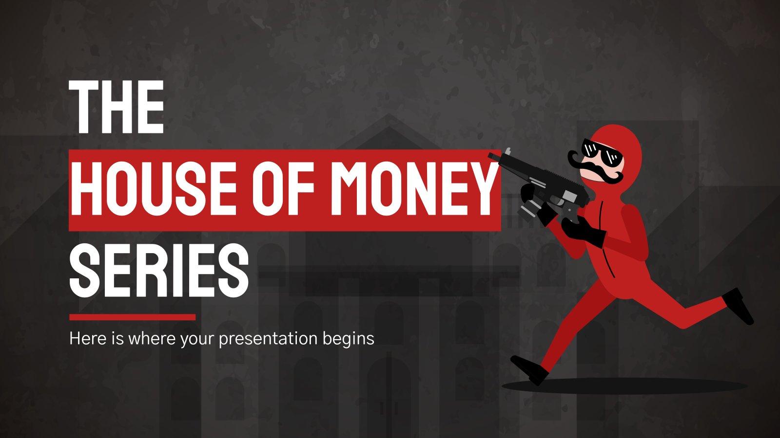 Minithema: Das Geldhaus Serie Präsentationsvorlage