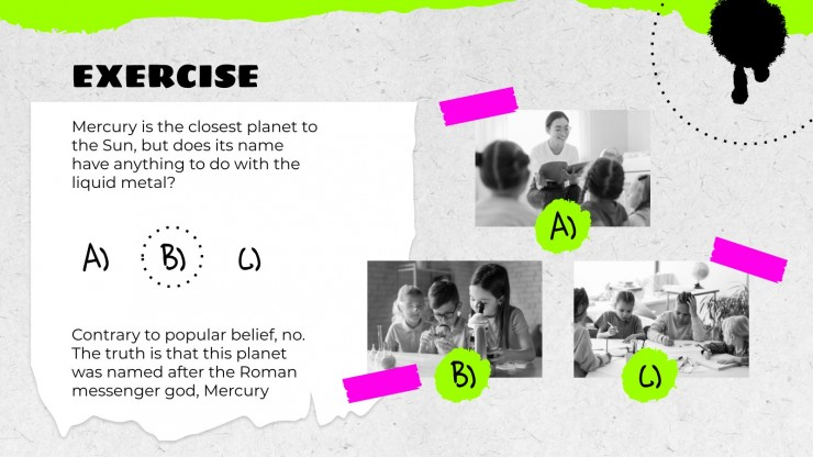 Neon Detailed Lesson Plan for Pre-K presentation template