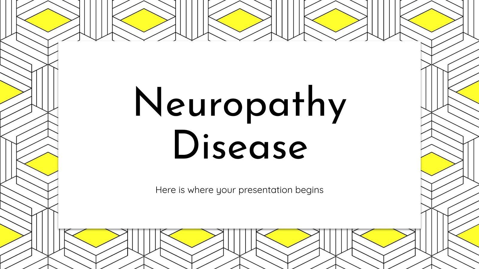 Neuropathy Disease presentation template