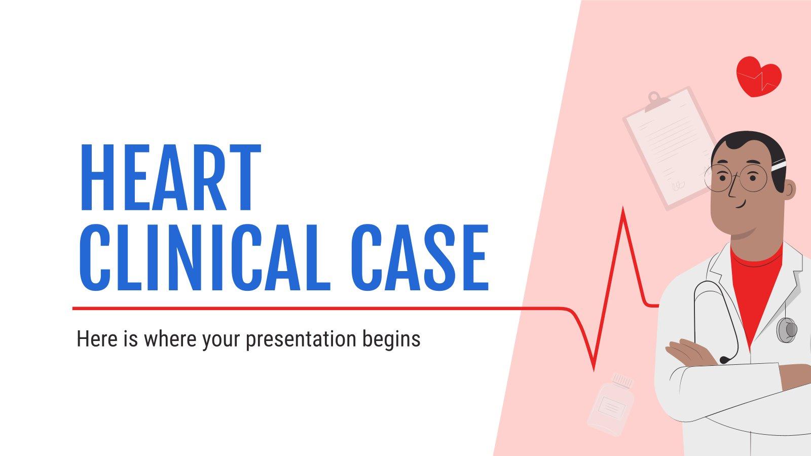 Modelo de apresentação Caso clínico Heart