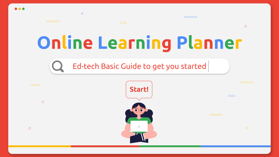 Online Learning Planner presentation template