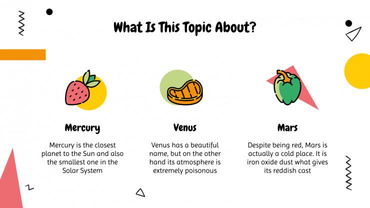 Cooking Workshop presentation template