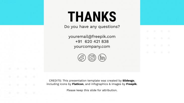 Plantilla de presentación CV para comerciales