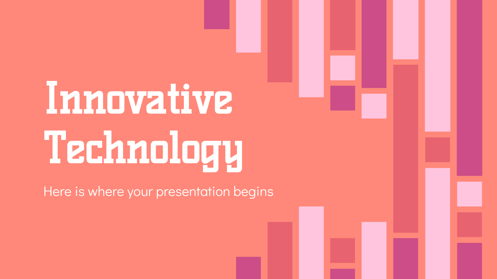 Innovative Technology presentation template
