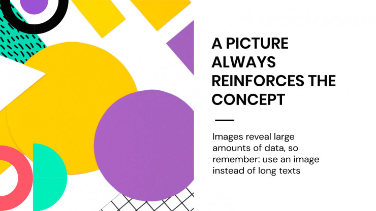 Geometric Background presentation template