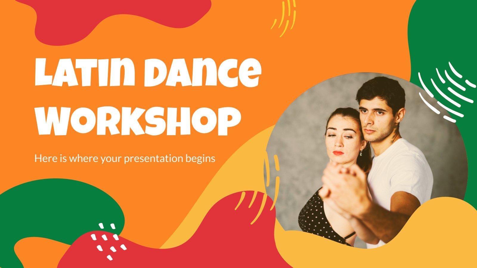 Latin Dance Workshop presentation template