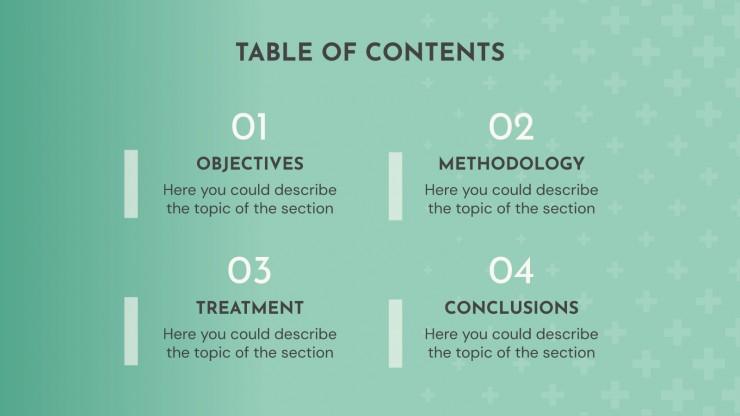 Percée concernant les massages : Modèles de présentation