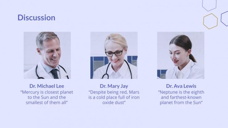 Minimalist Posity Clinical Case presentation template