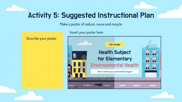 Modelo de apresentação Saúde para o ensino básico: Saúde ambiental