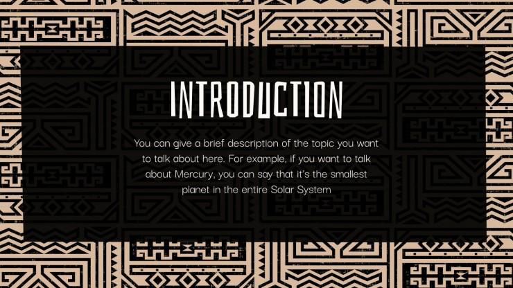 Native Hawaiian Culture Thesis presentation template