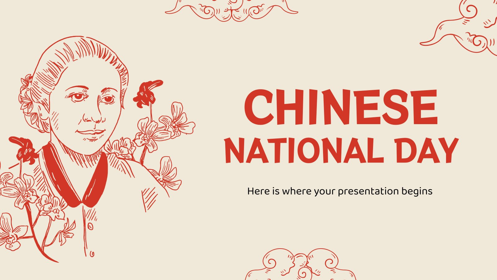 Chinese National Day presentation template