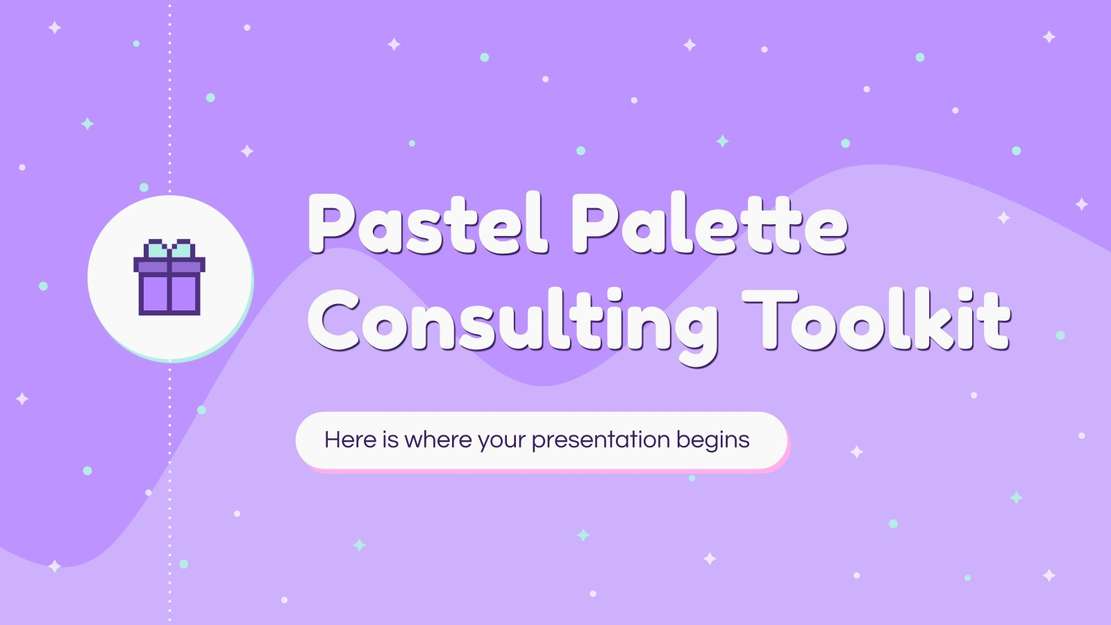 Pastel Palette Consulting Toolkit presentation template