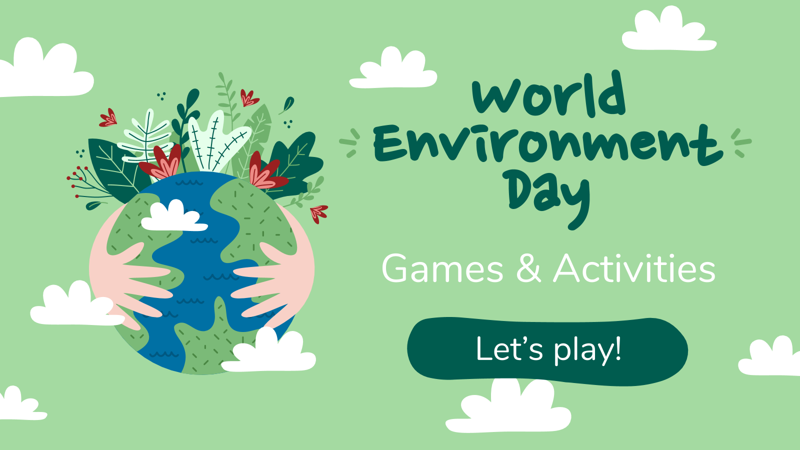 Journée mondiale de l'environnement : Modèles de présentation